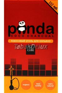 Уголь Panda Red 1 кг (96 кубиков) в упаковке