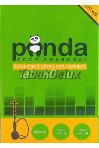 Уголь Panda Green 1 кг (120 кубиков) в упаковке