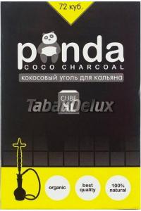 Уголь Panda Yellow 1 кг (72 кубика) в упаковке