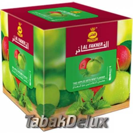 Al Fakher Two apple mint (Два яблока мята) 1 кг
