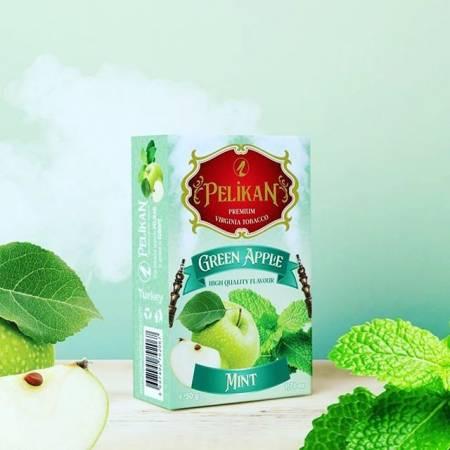 Pelikan Green Apple Mint (Зеленое Яблоко Мята) 50 грамм