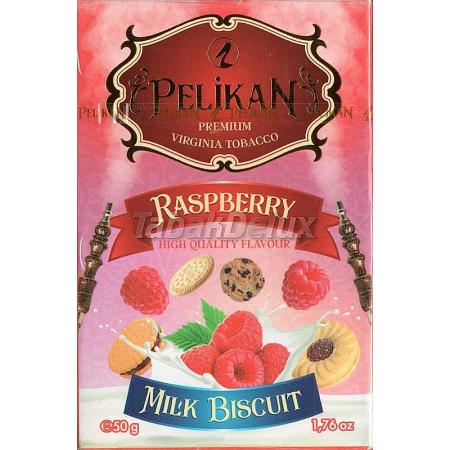 Pelikan Milk Biscuit Raspeberry (Малиновый Бисквит) 50 грамм