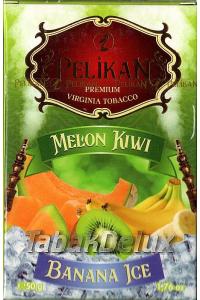 Pelikan Ice Melon Kiwi Banana (Лед Дыня Киви Банан) 50 грамм