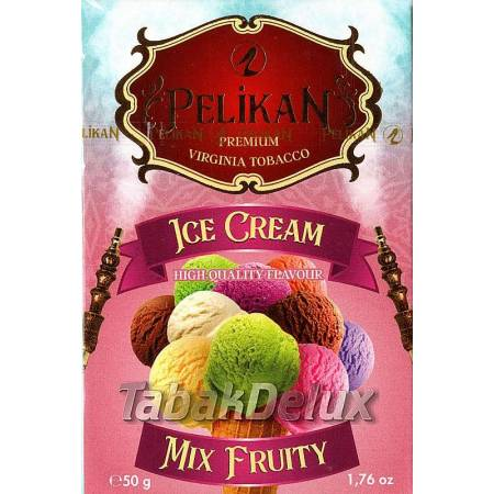 Pelikan Ice Cream Mix Fruity (Фруктовое Мороженое) 50 грамм