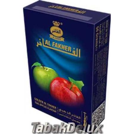 Al Fakher Golden Two Apple (Двойное Яблоко) 50 грамм
