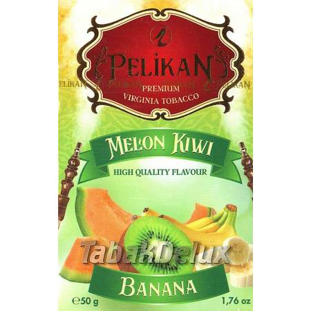 Pelikan Melon Kiwi Banana (Дыня Киви Банан) 50 грамм