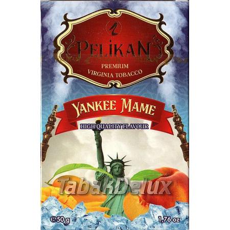 Pelikan Yankee Mame (Лёд Персик Манго) 50 грамм