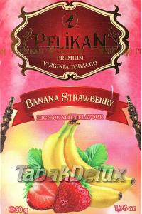 Pelikan Banana Strawberry (Банан Клубника) 50 грамм