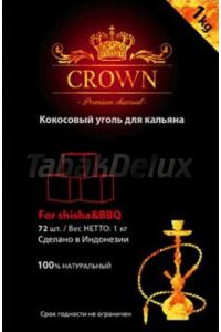 Уголь Crown 1 кг (72 шт.) без упаковки