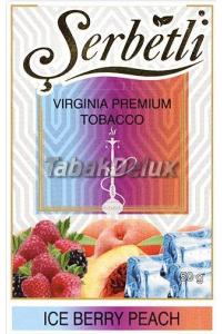 Serbetli Ice Berry Peach (Лед Ягоды Персик) 50 грамм