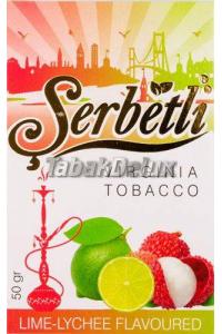 Serbetli Lime Lychee Blueberry (Лайм Личи Черника) 50 грамм