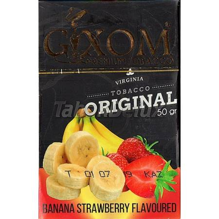 GIXOM Banana Strawberry (Банан Клубника) 50 грамм
