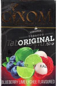 GIXOM Blueberry Lime Lychee (Черника Лайм Личи) 50 грамм