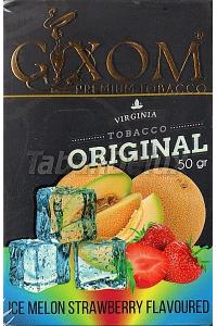 GIXOM Ice Melon Strawberry (Лед Дыня Клубника) 50 грамм
