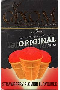 GIXOM Strawberry Plombir (Клубничный пломбир) 50 грамм
