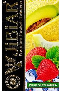 Jibiar Ice Melon Strawberry (Лёд Дыня Клубника) 50 грамм