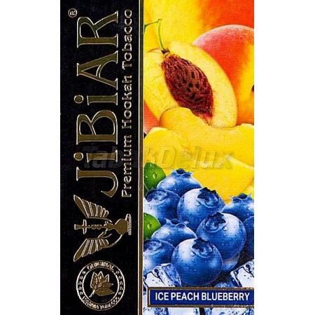 Jibiar Ice Peach Blueberry (Лёд Персик Черника) 50 грамм