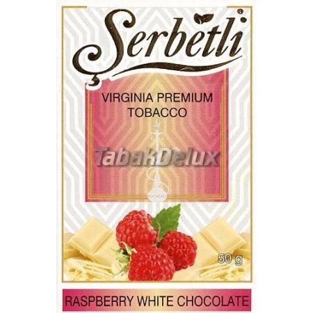 Serbetli Raspberry White Chocolate (Малина Белый Шоколад) 50 грамм