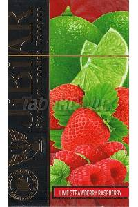 Jibiar Lime Strawberry Raspberry (Лайм Клубника Малина) 50 грамм
