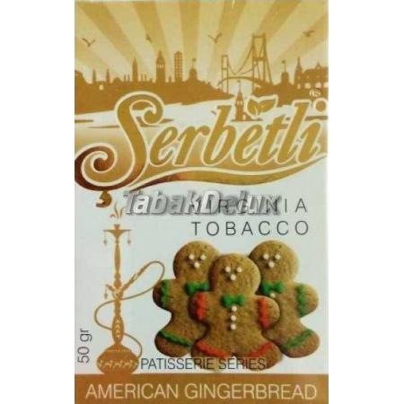 Serbetli American Gingerbread (Имбирное Печенье) 50 грамм