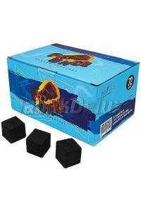 Уголь Punch 1 кг (72 кубика) в упаковке