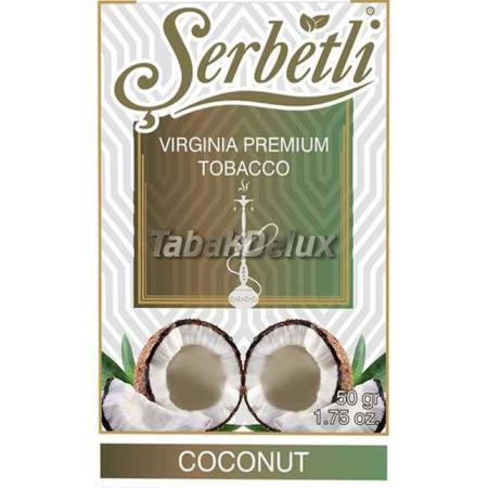 Serbetli Coconut (Кокос) 50 грамм