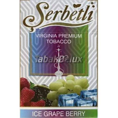 Serbetli Ice Grape Berry (Лёд Виноград Ягоды) 50 грамм
