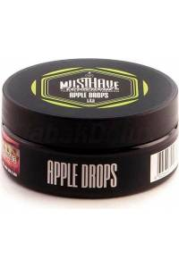 Табак Must Have Apple Drops (Яблочный Леденец) 125 грамм