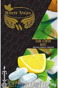 Табак White Angel Gum Lemon Mint (Жвачка Лимон Мята) 50 грамм