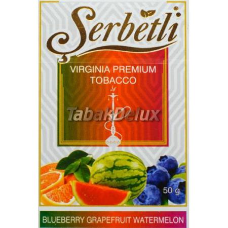 Serbetli Blueberry Grapefruit Watermelon (Черника Грейпфрут Арбуз) 50 грамм