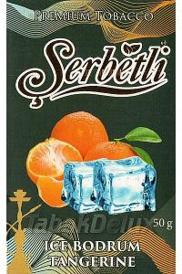 Serbetli Black Ice Tangerine (Лёд Мандарин) 50 грамм