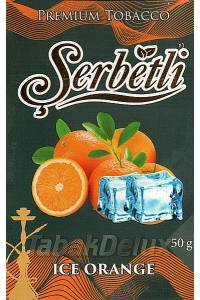 Serbetli Black Ice Orange (Лёд Апельсин) 50 грамм