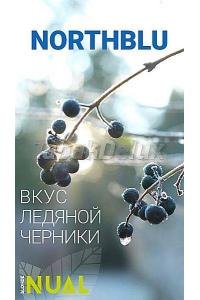 Nual North Blu (Лёд Черника) 100 грамм