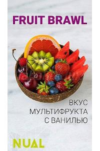Nual Fruit Brawl (Мультифрукт) 100 грамм