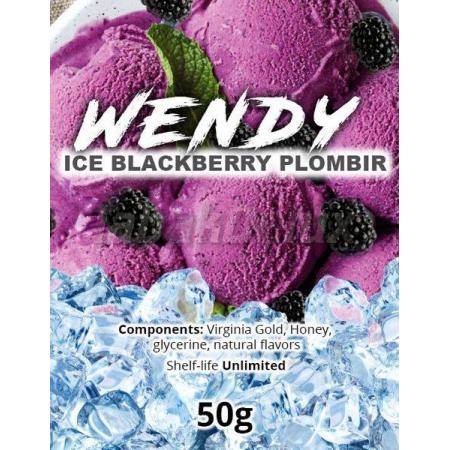 Wendy Ice Blackberry Plombir (Лёд Ежевичный Пломбир) 50 грамм