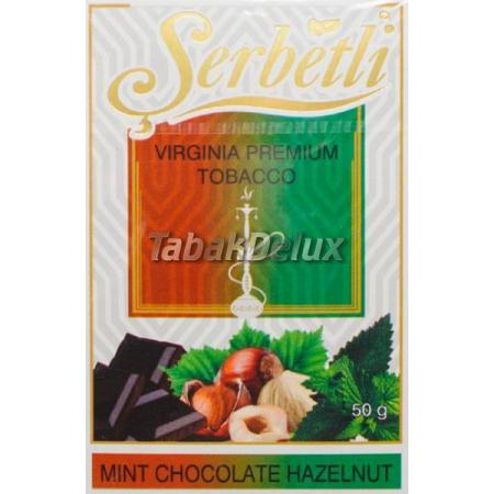 Serbetli Mint Chocolate Hazelnut (Мята Шоколад Фундук) 50 грамм