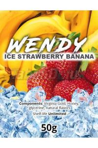 Wendy Ice Strawberry Banana (Лёд Клубника Банан) 50 грамм