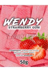 Wendy Strawberry Gum (Клубничная Жвачка) 50 грамм