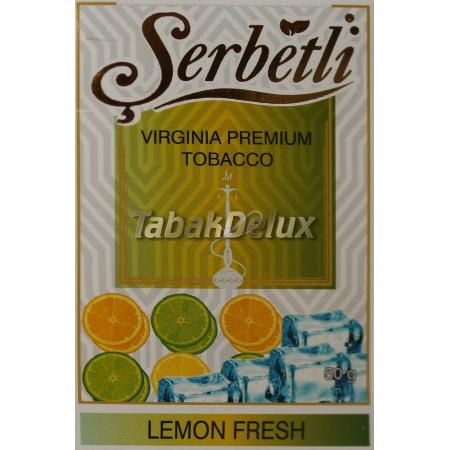 Serbetli Lemon Fresh (Освежающий Лимон) 50 грамм