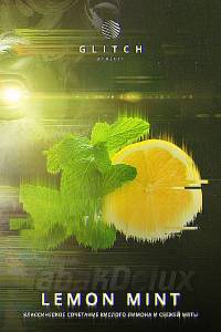 Табак Glitch Lemon Mint (Лимон Мята) 50 грамм