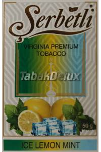 Serbetli Ice Lemon Mint (Лёд Лимон Мята) 50 грамм