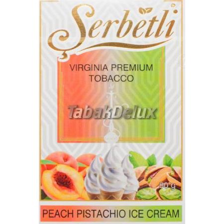 Serbetli Peach Pistachio Ice Cream (Персиково Фисташковое Мороженое) 50 грамм