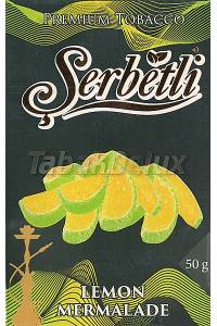 Serbetli Black Lemon Marmalade (Лимонный Мармелад) 50 грамм