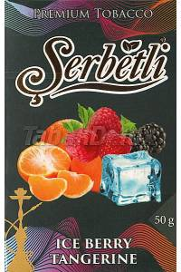 Serbetli Black Ice Berry Tangerine (Лёд Ягоды Мандарин) 50 грамм