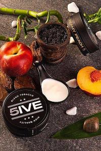 Табак 5ive Creamy Peach (Сливочный Персик) 100 грамм