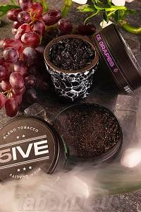 Табак 5ive Ice Grapes (Лёд Виноград) 100 грамм