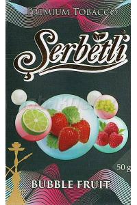 Serbetli Black Bubble Fruit (Фруктовая Жвачка) 50 грамм