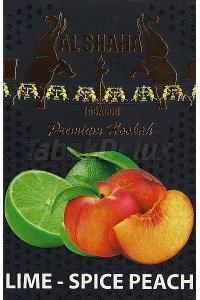 Al Shaha Lime Spice Peach (Лайм Пряный Персик) 50 грамм