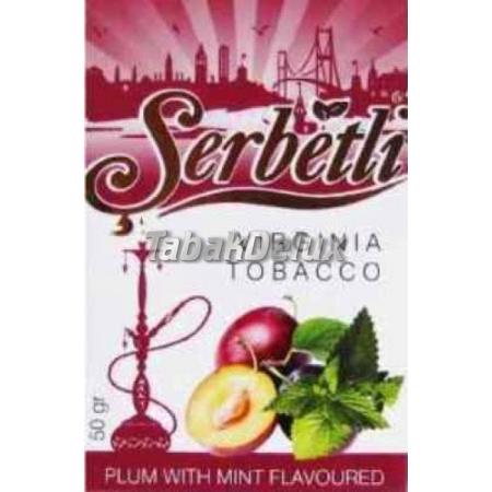 Serbetli Plum Mint (Слива Мята) 50 грамм