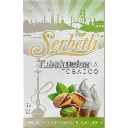 Serbetli Pistachio Ice Cream (Фисташковое Мороженное) 50 грамм